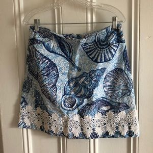 Size 10 Lilly Pulitzer Stuffed Shells skirt